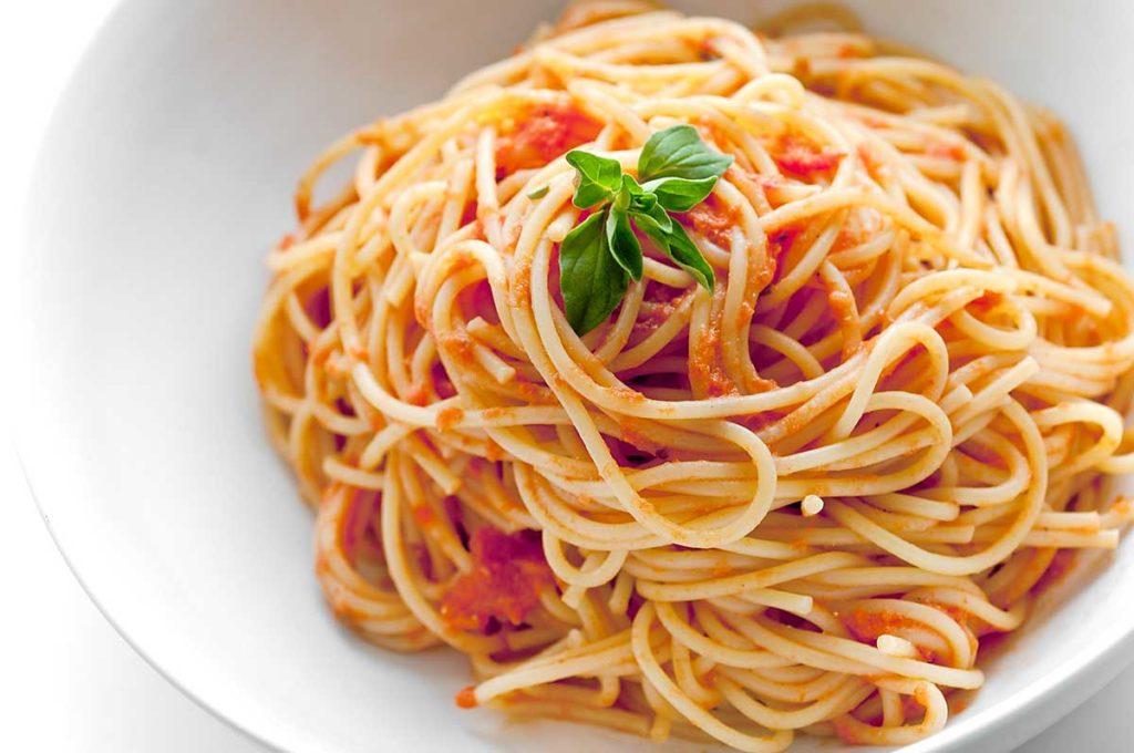 pasta spaghetti al pomodoro metodo mosaico efficace